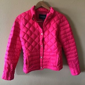 Lands End Girls Puffer Jacket